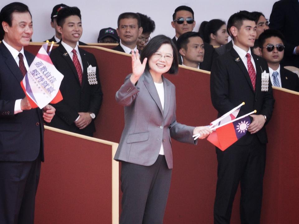 國慶演說 蔡英文:拒絕一國兩制 讓台灣在世界不可或缺